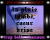 S-kyz Quand La Pluie Tombe lyrics - music