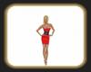 chelsea red dress
