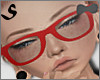 S| Glasses Red