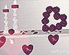 Valentines Shelf Decor