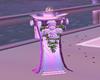 Purple Wedding Pillar