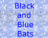 Black and Blue Bats