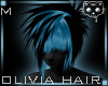 Black Blue hair 46a Ⓚ
