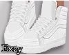 E! White Kicks.