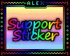 AL; Support Sticker #2