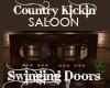 Country Kickin Bar Door