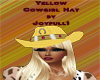 Yellow Cowgirl Hat