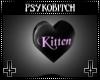 PB Spin heart kitten