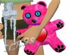 Hot Pink Heart Teddy