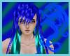 Blue Green Hair M/F