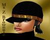 Mega Black & Gold Cap