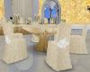 Beige Wed Table