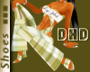 DHD Plaid Wedge Green