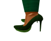 green pam stilettos