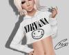 Nirvana Crop Sweater | F