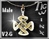 TWx:MALE Celtic Knot V2G