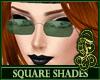 Square Shades Green