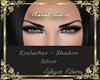 eyelashes + shadow Silve