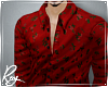 Red Rose Print Shirt