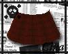 Red Plaid Skirt
