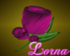 Pink Lapel Flower