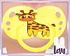 Kids Giraffe paci