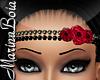 -MB- Red Roses Headbands