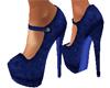 Royale Blue Suede
