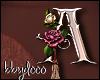 Deco Rose Sticker (A)