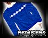 CEM Blue Winter Sweater