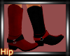 [HB] Boots - Red/Black