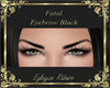 Fatal Eyebrow black
