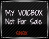 S1NS1X's VB