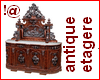 !@ Antique etagere