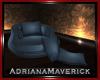 Blue kissing Sofa
