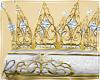 Filigree Gold Crown