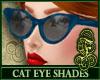 Cat Eye Shades Blue