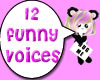 12 funny voices