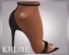 K Ny blk heels