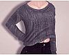 D. Gray Sweater