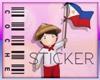 [C] Pinoy Ako Sticker