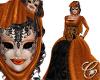 Pumpkin Queen Masque