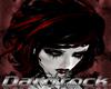 DARK Red Black Shine Pvc