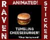 TUMBLING CHEESEBURGER!