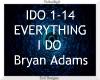 Everything I Do ~ Adams
