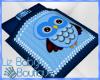 {liz} baby Owl Blanket