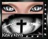 [K]*Cross Eyes Silver M