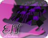 Cushions purple-dark-ELF