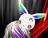 ~N~ Rainbow White Bunny