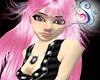 Pink Shana Hair